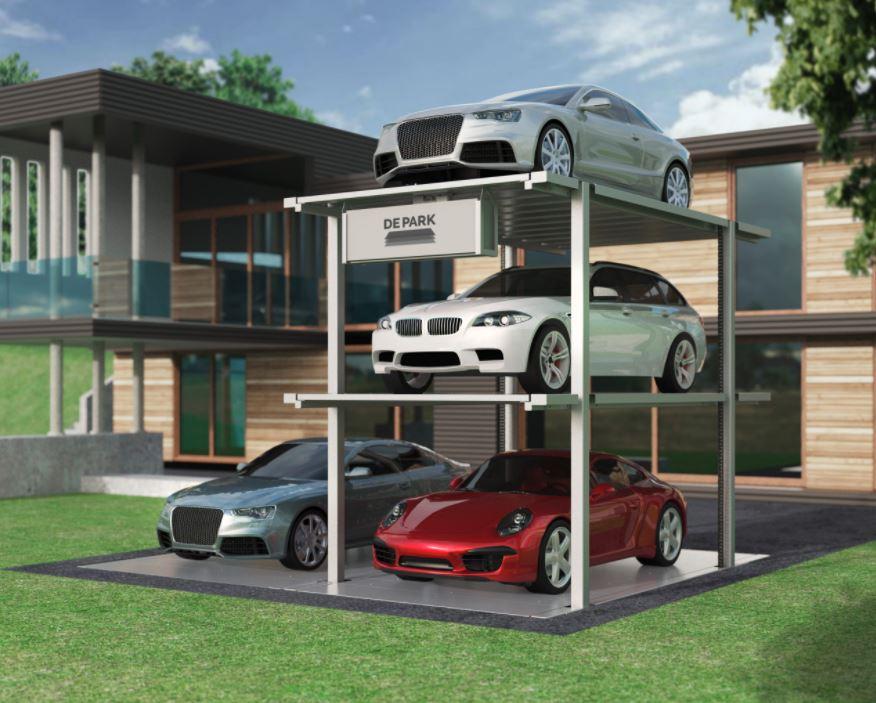 Series DE-59 [with pit] - Duplex Garage
